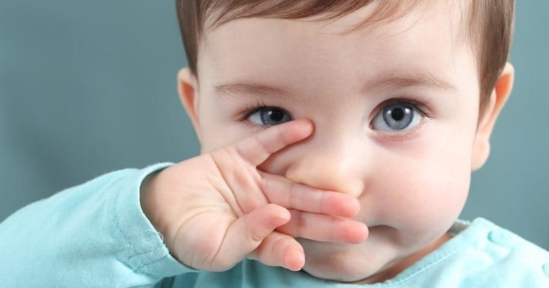 Nighttime Stuffy Nose in Young Child