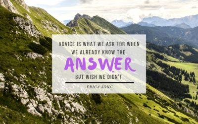 Trusting your inner guidance