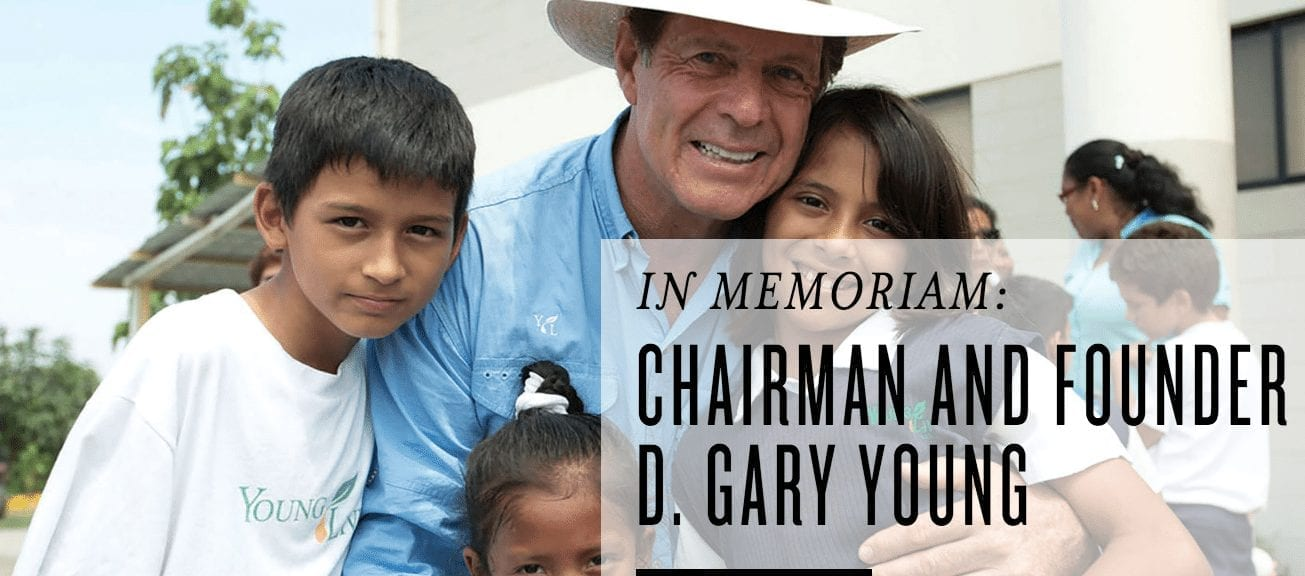 The Legacy of Dr. Gary Young – how you can be a part of it