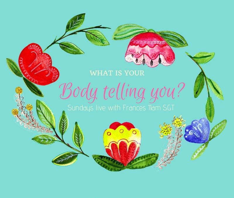 What is your body telling you?1 min read