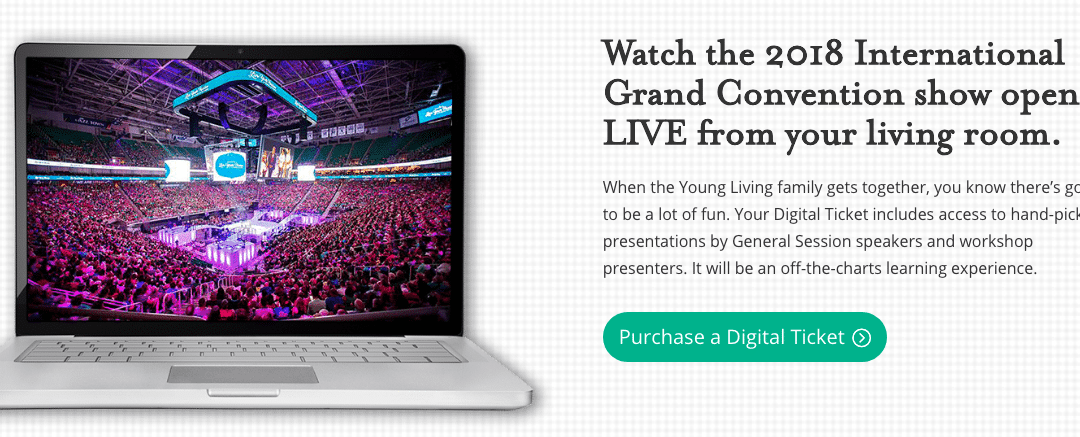 BE PART OF THE YOUNG LIVING CONVENTION FROM HOME!!!1 min read