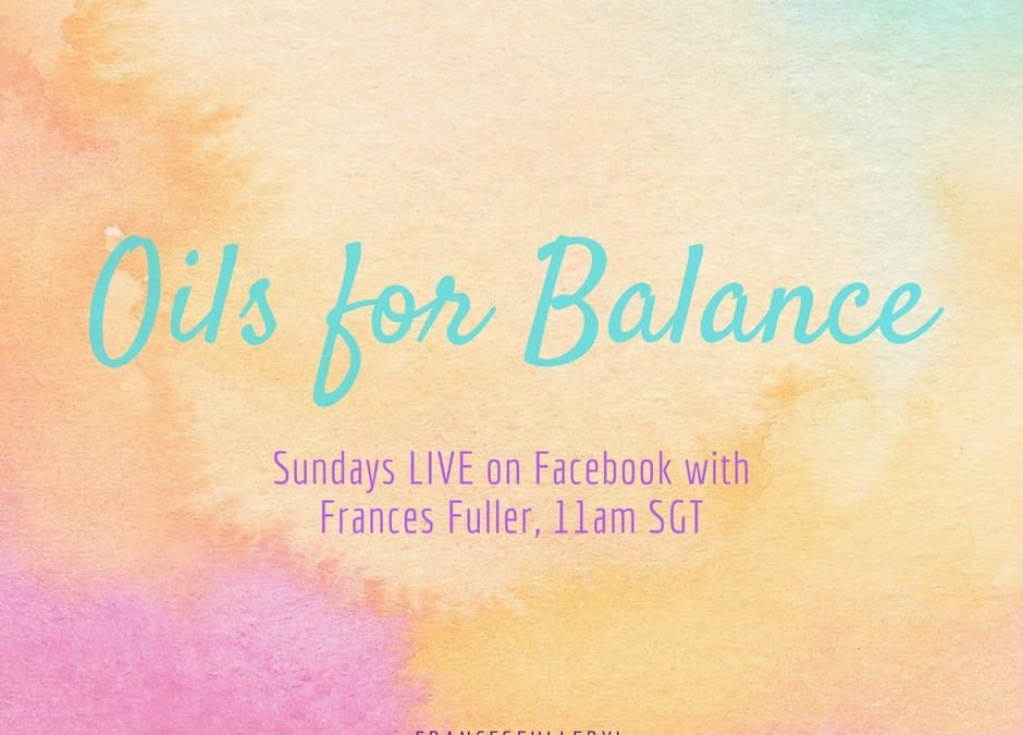 Oils for Balance2 min read