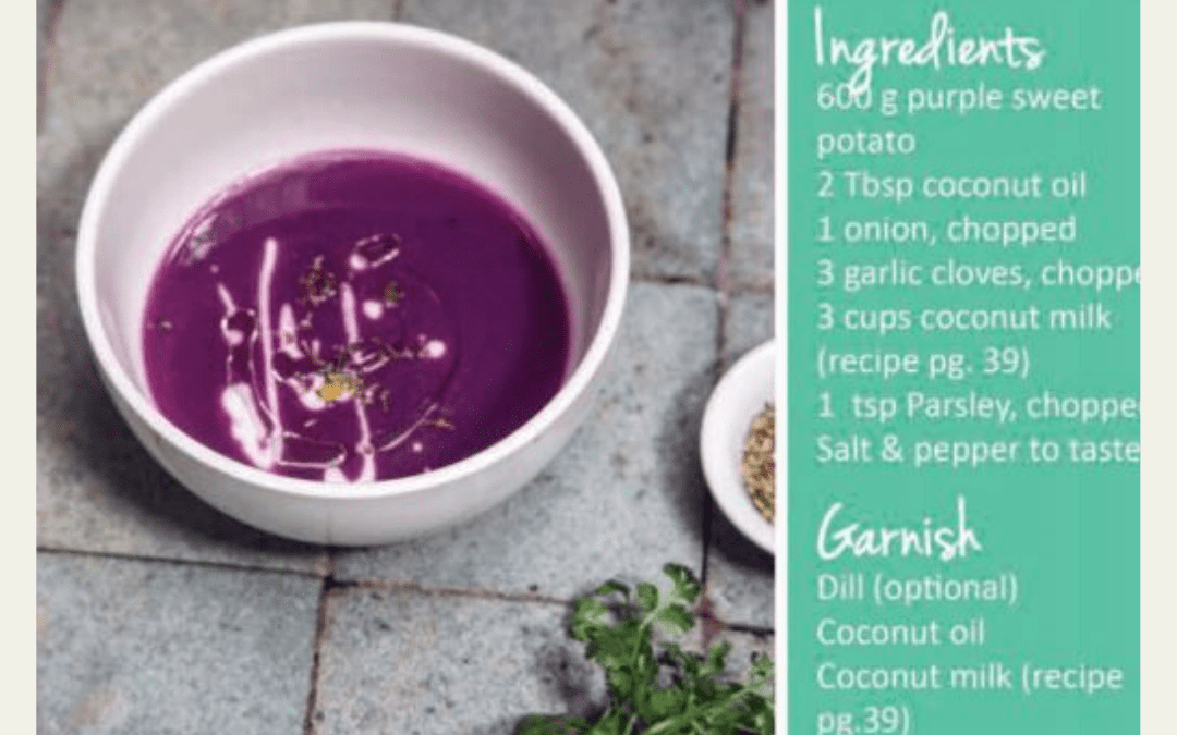 Fuller Life Bali Purple Sweet Potato Soup