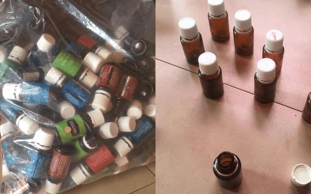 Reuse bottles