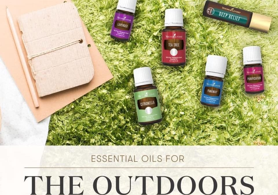 Essential Oils for the Outdoors