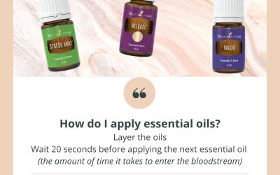 Layering of Oils